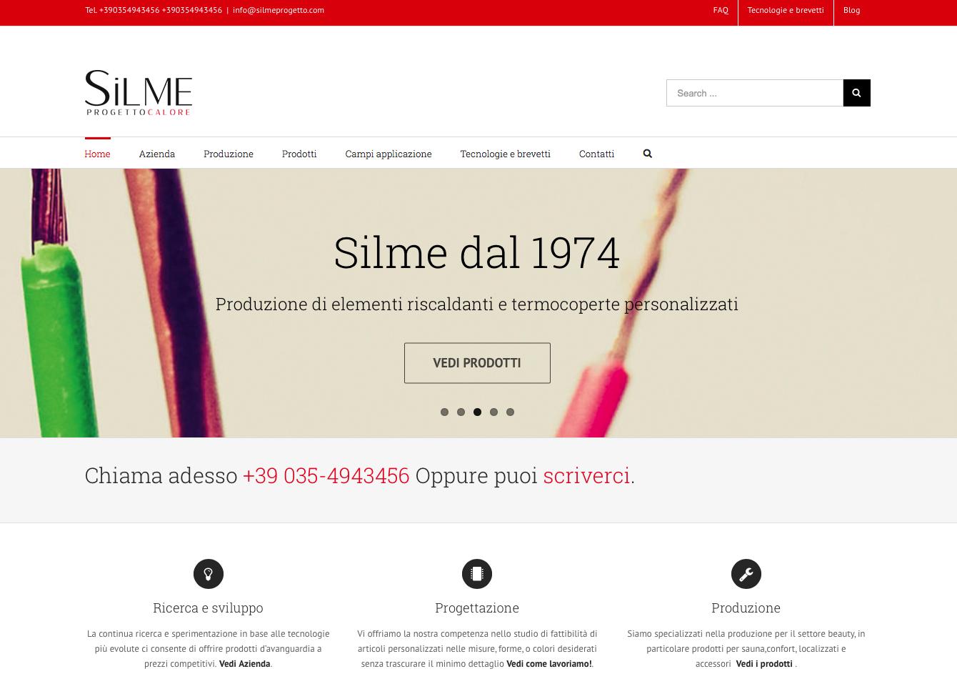 Silme progetto online il nuovo sito realizzato da intraweb for Progetto online