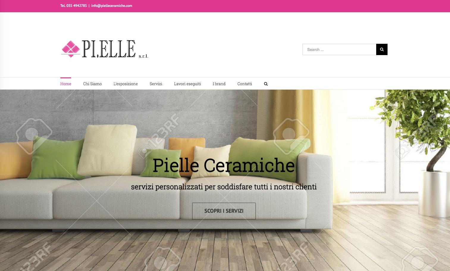 A breve online il nuovo sito web di pi elle ceramiche for Sito web di progettazione di pavimenti