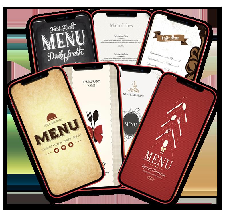 menu qr